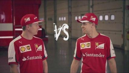 Vettel vs. Räikkönen - Are Räikkönens days over?