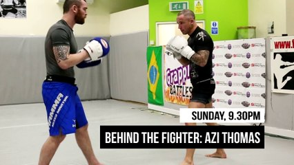 Behind the Fighter: Azi Thomas Teaser