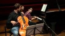 Saint-Saëns : Sonate pour violoncelle et piano n° 1 en ut mineur op. 32 - III Allegro moderato par le Duor Urba