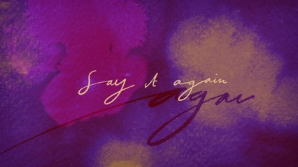 Frances - Say It Again