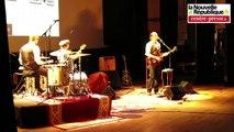 VIDEO. Vouneuil-sous-Biard : le trio blues Rosemud en résidence à la salle R2B