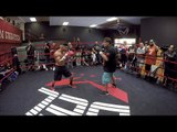 Abner Mares POV boxing workout- GOPRO4- Santa Cruz vs. Mares full video