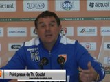 (J33) Stade Lavallois - Stade de Reims, le point presse de Th. Goudet