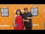 Rico & Raini Rodriguez Kids' Choice Sports 2016 Orange Carpet