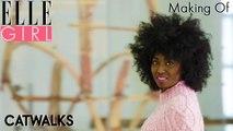 Le Making Of - Go back aux années 70 !   Catwalks, une décennie de mode à Paris c'est sur ELLE Girl !
