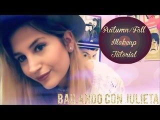 AUTUMN/FALL MAKEUP TUTORIAL  Tutorial Maquillaje de Otoño  BCJ