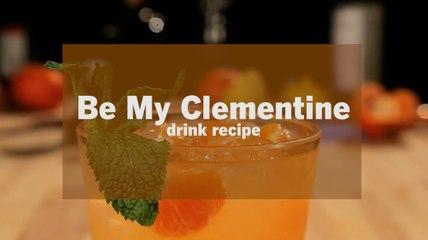 Be My Clementine Vodka Drink Recipe