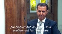 """Bachar al-Assad : """"Cette attaque chimique est une mise en scène"""""""