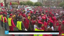 جنوب أفريقيا: مظاهرات في شوارع العاصمة تطالب الرئيس بالتنحي