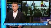 Debil! Referendumul consultativ a lui Dodon va costa bugetul de stat aproape 75 de milioane de lei