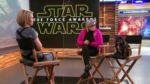 Hommage à Carrie Fisher lors de la Star Wars Celebration