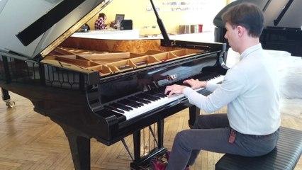 Maurizio Baglini - Schumann: So rasch wie möglich - Schneller - Noch schneller (Piano Sonata No.2 in G minor, Op.22)