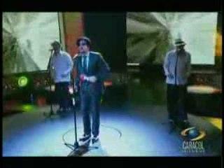Hernán Saraza - Cantando Camaleon con Ruben Blades de Yo me llamo