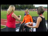 Athletics - women's 100m T34 Medal Ceremony - 2013 IPC Athletics WorldChampionships, Lyon