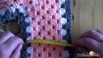 Newborn Crochet Poncho Tutorial