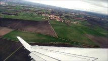 Clermont Ferrand France - View from the Sky   Take off from Clermont Airport   Air France by HOP
