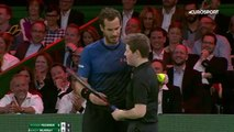 Murray demande à un ramasseur de balles de lui sauver son match