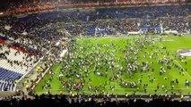 Bagarres Hooligan avant Lyon vs Besiktas - 13-04-17