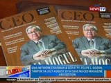 NTG: Atty. Felipe L. Gozon, tampok sa July-August 2016 issue ng CEO Magazine Asia edition