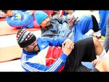 Watch Manny Pacquiao's Tuesday morning Ab workout w/ Apl de Ap of Black Eyed Peas - 11 Days #maypac