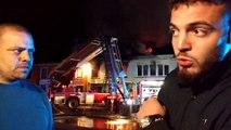 Froidchapelle: cinq bâtiments détruits dans un incendie