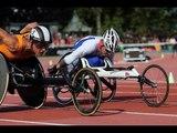Athletics - men's 200m T34 semifinal 1 - 2013 IPC Athletics WorldChampionships, Lyon