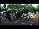 Athletics - Men's 200M T34 semifinal 2 - 2013 IPC Athletics WorldChampionships, Lyon