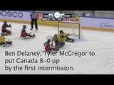 2017 World Para ice hockey Championships, CAN v SWE, Game Highlights
