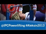 Powerlifting - women's -55, -61kg - 2013 IPC Powerlifting European Open Championships Aleksin
