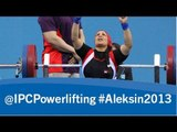 Powerlifting - women's -67kg, -73kg, -79kg- 2013 IPC Powerlifting European Open Championships