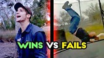 WINS VS FAILS - APRIL 2017  The Best Fails - Funny Fail Compilation - Try not to Laugh or Grin