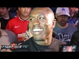 """Andre Berto """" Lopez can complain about stoppage. I would of hurt him if they didnt stop it!"""""""