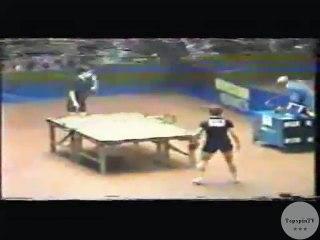 1977 (WCTT) Birmingham Stellan Bengtsson vs. Mitsuru Kohno; Pt. 1