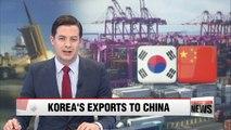 Korea's exports to China grow 7% despite China's THAAD retaliation