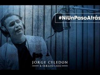 Ni Un Paso Atrás - Jorge Celedón (Video Lyrics)