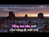 Karaoke } Mặt Trời Tím   Huyền Thoại ft  Tần Khánh
