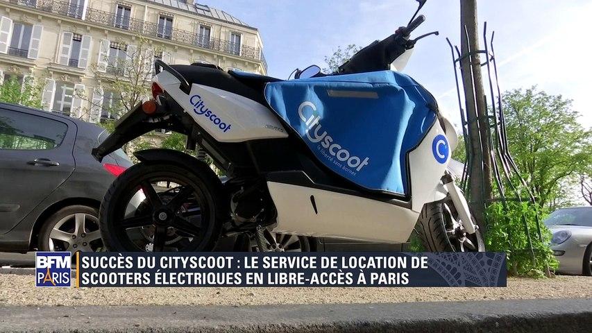 Cityscoot franchit le périphérique parisien (BFM, 30 mars 2017)