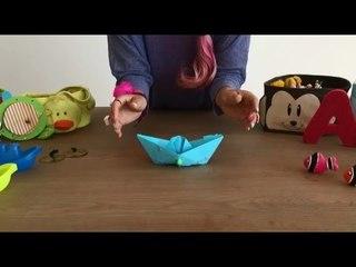 Como hacer un barco de papel - Canta y baila - Olanda y la Caja Mágica