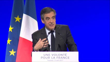 discours Fillon Toulouse numérique