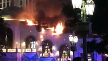 Bellagio Fire: Las Vegas Strip Temporarily Shuts Down After Flames Erupt At Hotspot