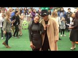 """Mel B & Stephen Belafonte """"The Angry Birds Movie"""" Los Angeles Premiere Red Carpet"""