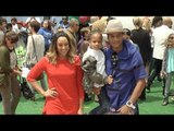 """Tia Mowry & Cory Hardrict """"The Angry Birds Movie"""" Los Angeles Premiere Red Carpet"""