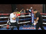 Mauricio Herrera vs. Jose Benavidez Jr- Full video- Herrera media workout