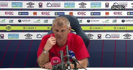 POINT PRESSE (SMC) : AVANT METZ - CAEN