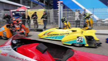 Ambiance Side-car championship aux 24 Heures Motos !