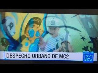 Mc2 en Rcn televisión estrenando Moneda de poco valor 27-07-2016