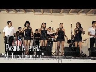 ME TOCA IGNORARTE - PASIÓN NORTEÑA (EN VIVO 2017)