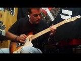 próximo Blues shuffle A - Medium Tempo 12 Bar Blues solo