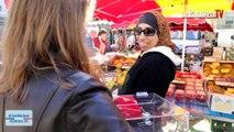 #moiélecteur : au marché d'Oullins, pour un vote obligatoire.