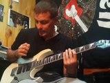 BASE DE ROCK & ROLL GUITAR SHUFFLE EN C BY Gus Quin tabs